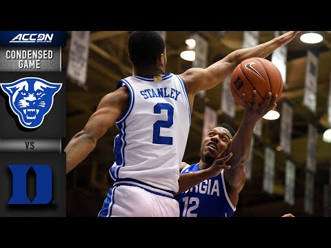 Georgia State Vs. Duke Condensed Game | 2019-20 ACC Men's Basketball