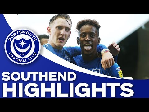 Highlights: Portsmouth 2-0 Southend United
