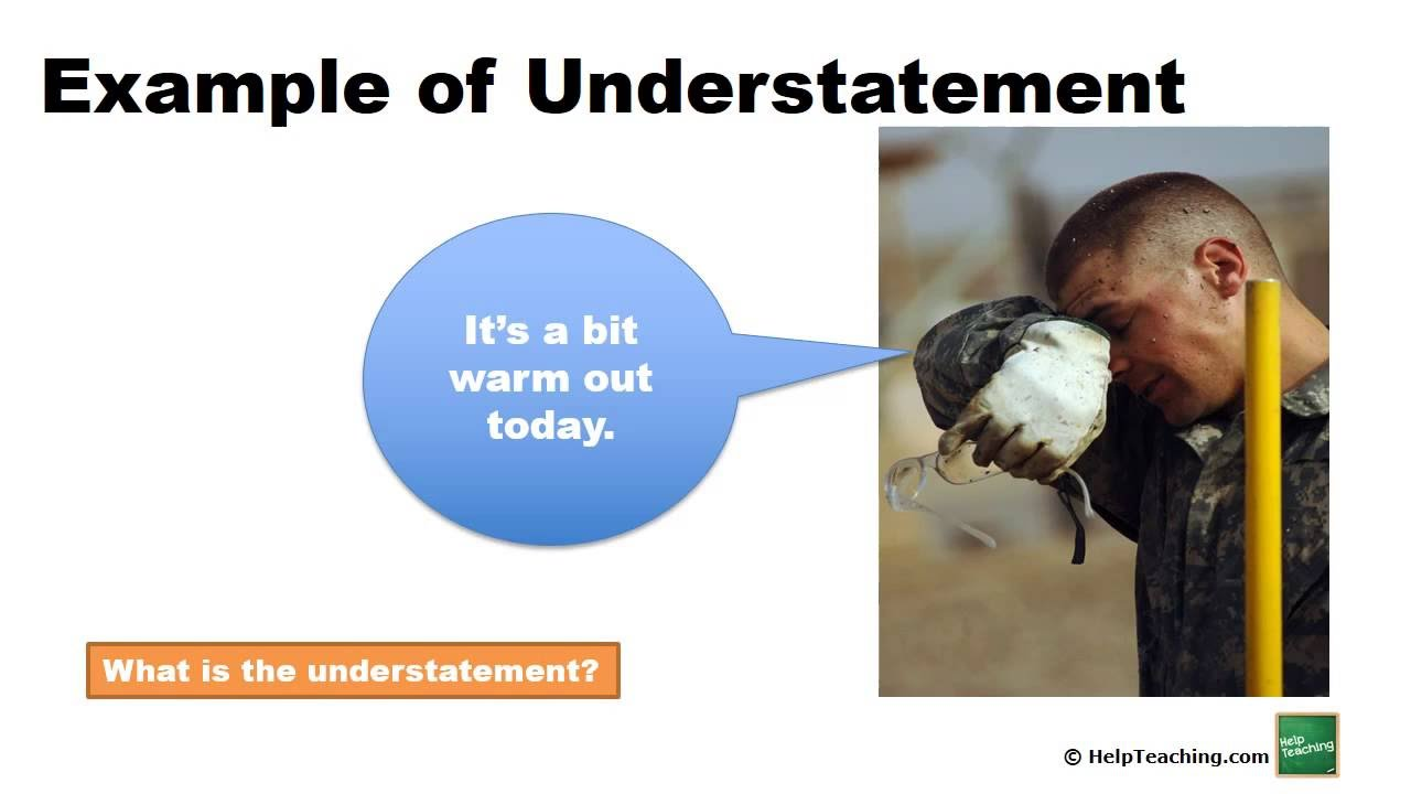 Workbooks understatement worksheets : Understatement - YouTube