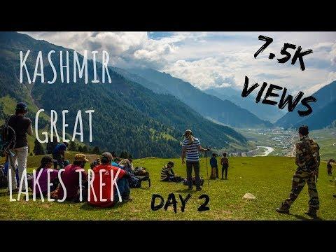 Trekking in Himalayas   Kashmir Great Lakes   Day 2