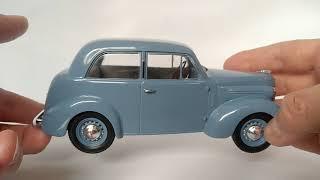 Легендарные советские автомобили №29 - КИМ-10-50