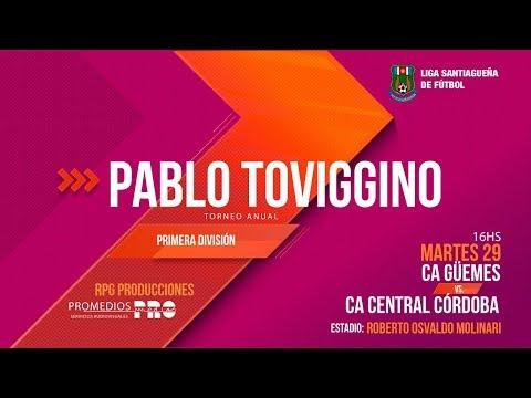 CA Güemes Vs. CA Central Córdoba