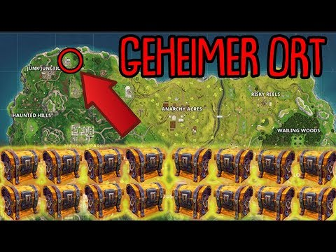 GEHEIMER ORT - Lootroute | (+15 Truhen & +999 Materialien) | Fortnite Battle Royale