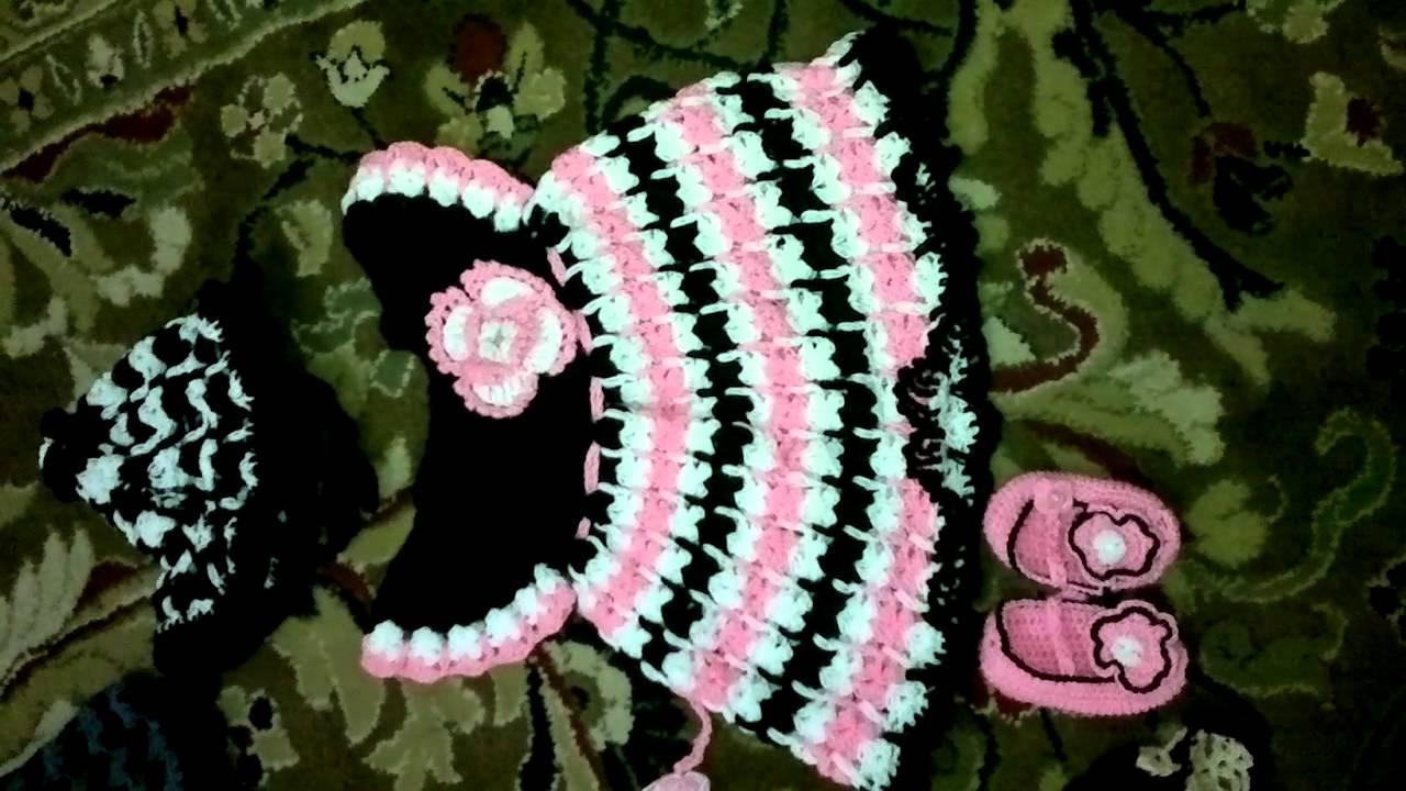 Crochet Baby Frocks By Asma 4m Pakistan Youtube