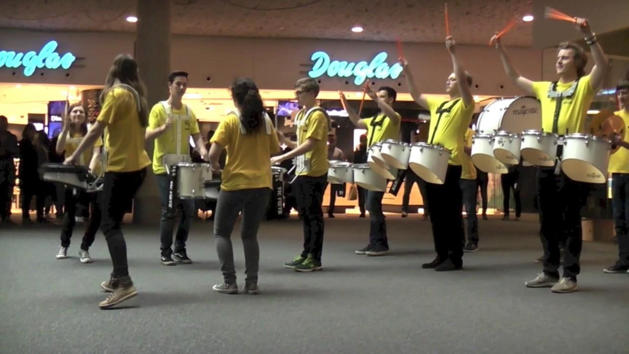 Drumpirates Flashmob Wien Mitte Youtube
