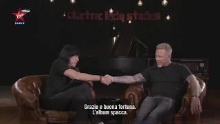 Metallica's James Hetfield is interviewed by Marky Ramone [SUB ITA]