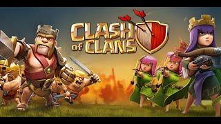 CLASH OF CLANS - MOSTRANDO A VILA ATUAL E SALVE PRO CLA!