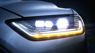 Ford Mondeo - dynamic LED headlights (1080p)