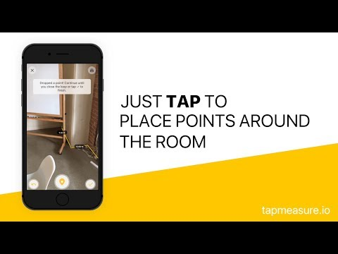 TapMeasure - An AR Spatial Utility to Capture and Measure Your Space