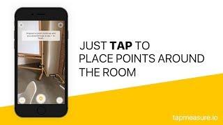 TapMeasure - ع المكانية الأداة المساعدة لالتقاط وقياس المساحة الخاصة بك