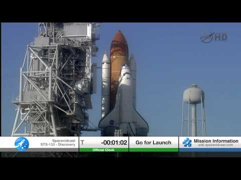 STS-133 The Final Launch of Space Shuttle Discovery includin