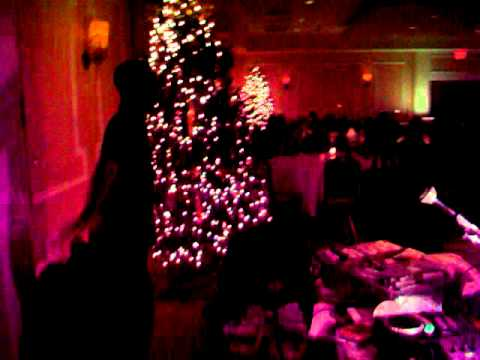 JJ SOLOMON DJS LENNY WILLIAMS GERALD LEVERT AT INERGY CHRISTMAS PARTY SAT DEC 3 2011