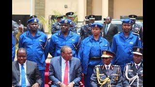 KENYA | Uhuru makes major changes in Police and unveils new uniform for General Duty officers