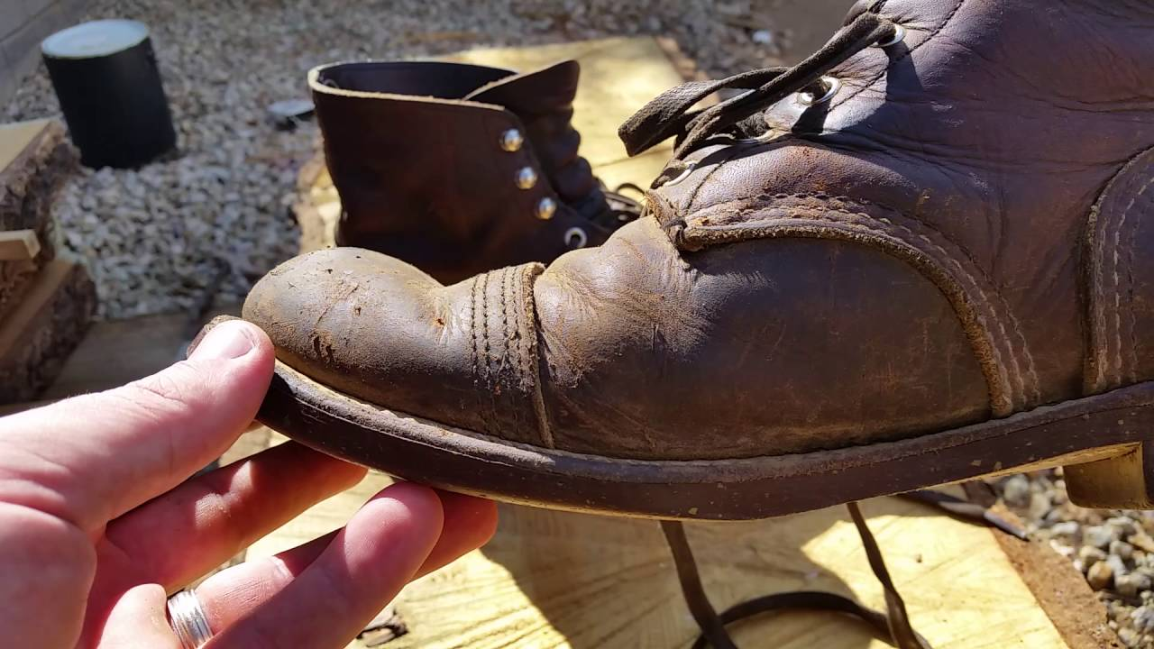 Red Wing Iron Ranger 8111 3 Years Old Youtube