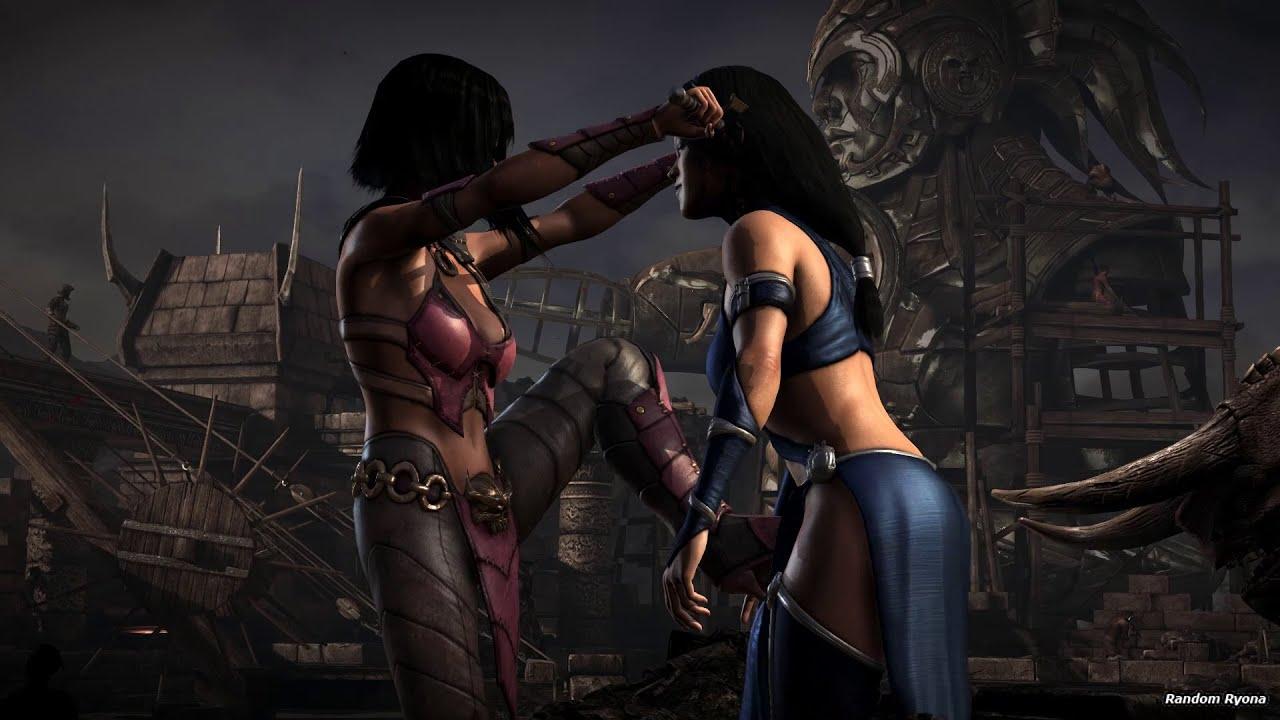 Mortal Kombat X Fatalities On Kitana Tournament Outfit Hd Part 1