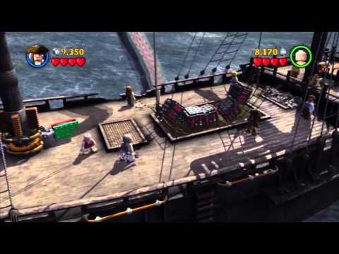 Lego Pirates Of The Caribbean Walkthrough HD - The Kraken - Part 16
