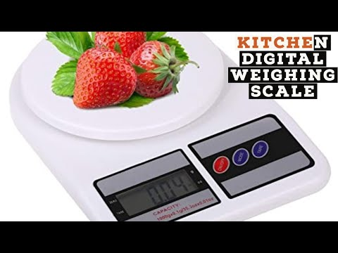 kitchen-digital-weighing-scale-|-review-&-demonstration|-why-we-require-weighing-scale