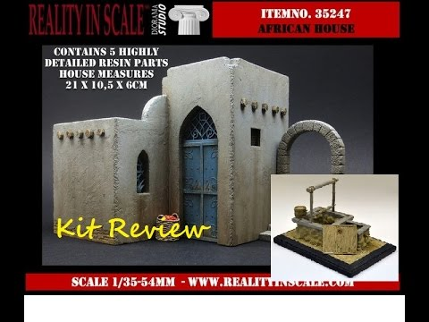 Reality in Scale North African Buildings Review