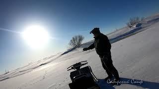 Рыба Есть Но Как Её Поймать Рыбалка Хапугой На Глубоком Сибирском Омуте Разведка Эхолотом