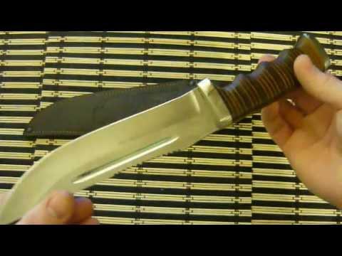 Качественный самодельный нож