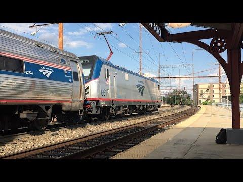 Amtrak & SEPTA HD 60fps: Late Afternoon Northeast Corridor Action @ Wilmington DE (5/19/16)