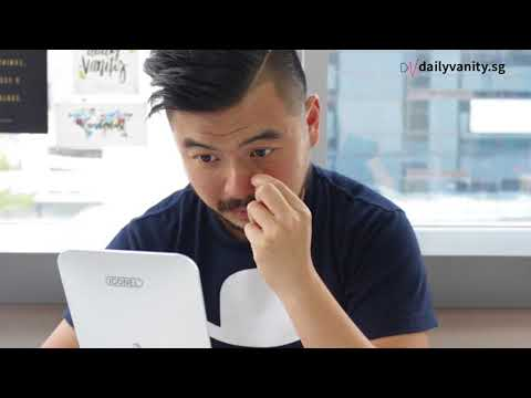 Singaporean Men Try : Peel Off Masks   Daily Vanity