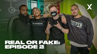 StockX Real OR Fake Episode 2: Featuring Yeezy Busta, Kai Bent Lee, and Racks Hogan