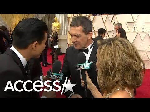Antonio Banderas Calls Ex Melanie Griffith His 'Best Friend' While Gushing Over Daughter At Oscars