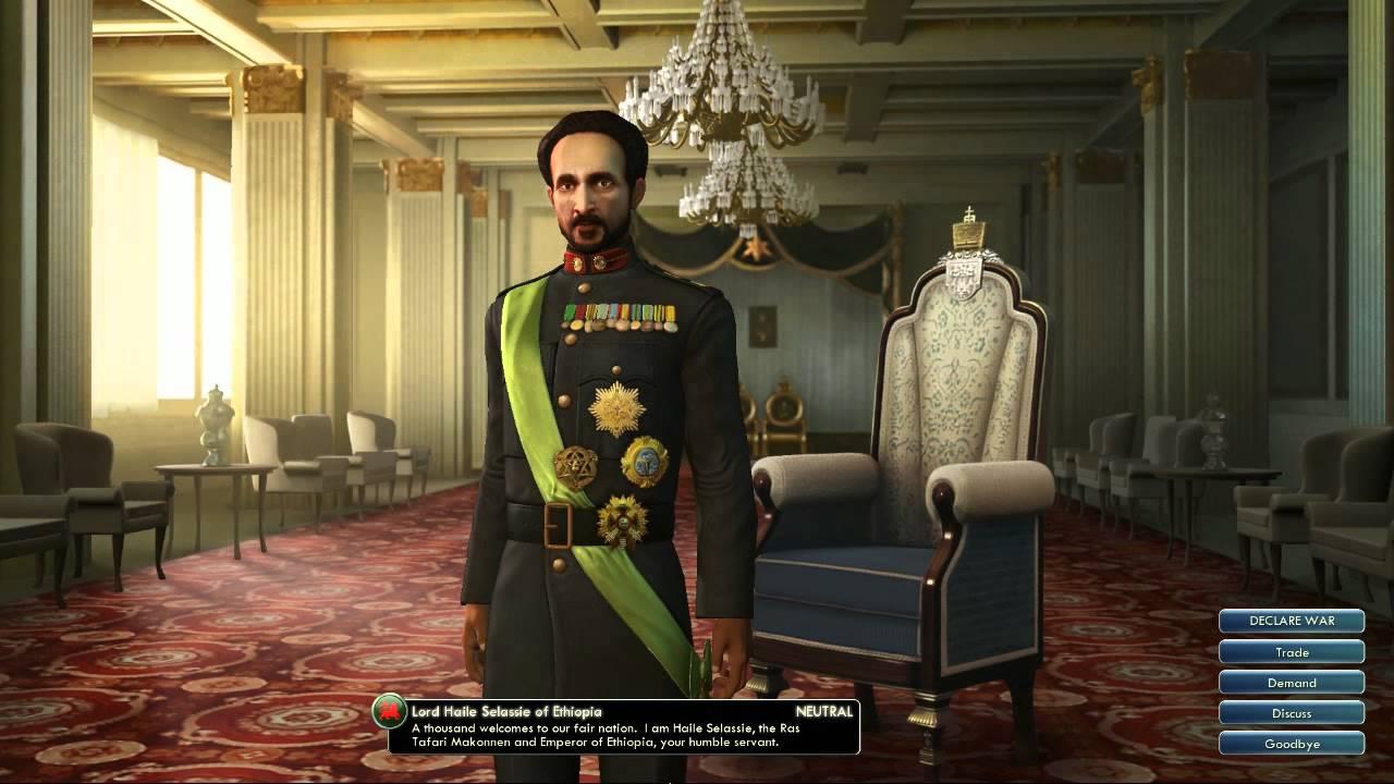 Civilization V OST | Haile Selassie Peace Theme ...