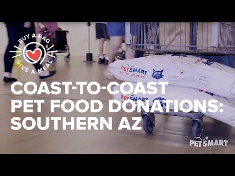 Coast-to-Coast Pet Food Donations: Community Food Bank of Southern AZ
