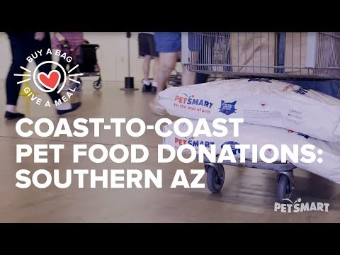 Coast-to-Coast Pet Food Donations: Community Food Bank of Southern AZ