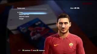 NEW FACE & HAIR FRANCESCO TOTTI 2014 2015  PES 2013   DESCARGA Thumbnail