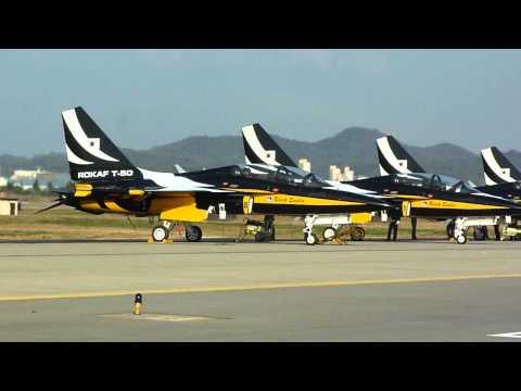 Korea Aerospace T-50B Golden Eagle @ OSAN BASE AIR POWER DAY 2011