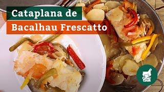 Receita de Cataplana de Bacalhau Frescatto