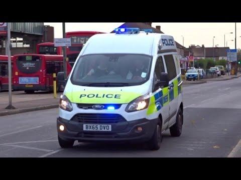 Metropolitan Police responding x2 | Ford Transit Custom and Volkswagen Passat GTE