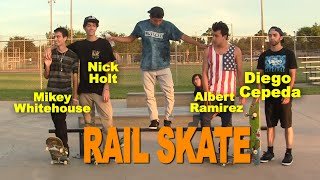 RAIL SKATE 4 WAY -  SKATE Saturdays