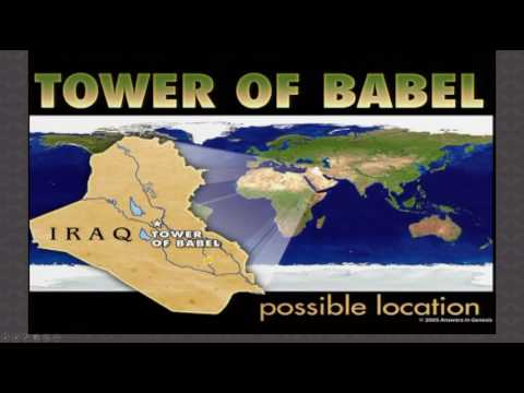 Tower of Babel and The Origin of Nations - Ice Age: Lesson 3