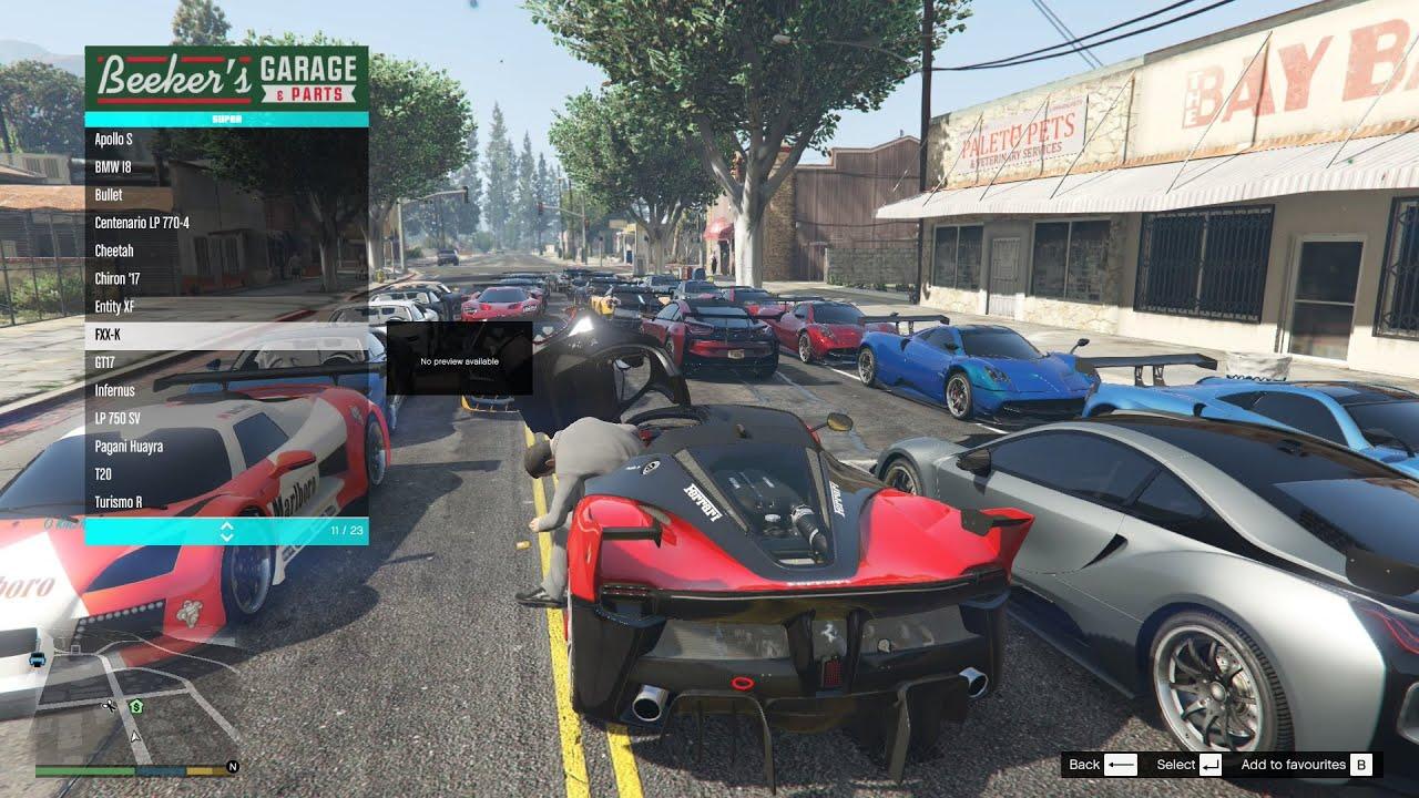 GTA 5 Mods #47 – Đốt bỏ những siêu xe tiền tỷ trong GTA 5