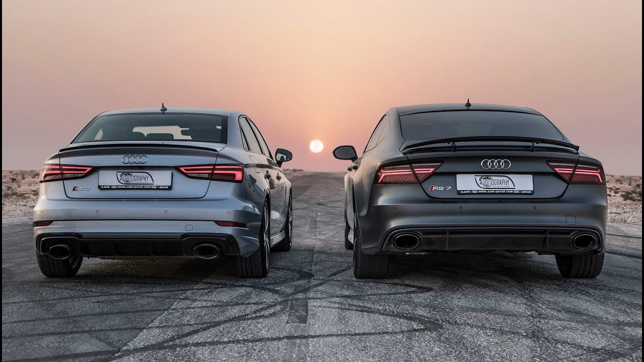 DRAGRACE AUDI RS SEDAN Vs AUDI RS PERFORMANCE Whos The Audi RS - Audi rs