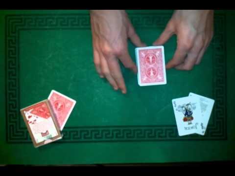 tour de magie carte transparente