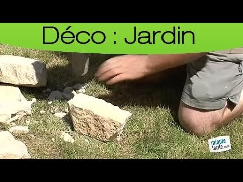 Decorer Son Jardin Construire Un Muret En Pierres Seches Youtube