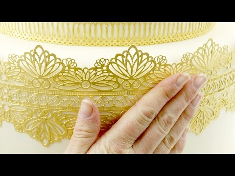 Sugar Cake Lace Made Simple