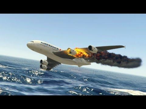GTA 5 - Amazing\terrible PLANE CRASH Compilation #9 (This is GTA5 game)