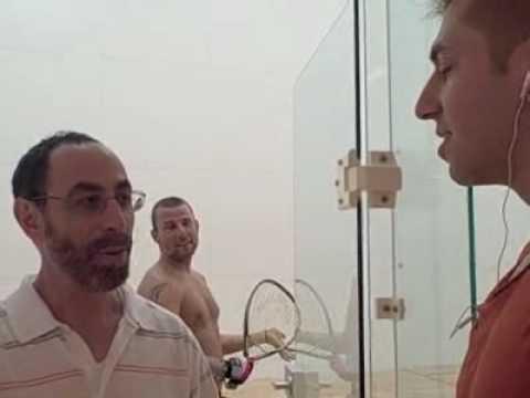 Racquet Ball with Rafi Amit and Joe Sebok