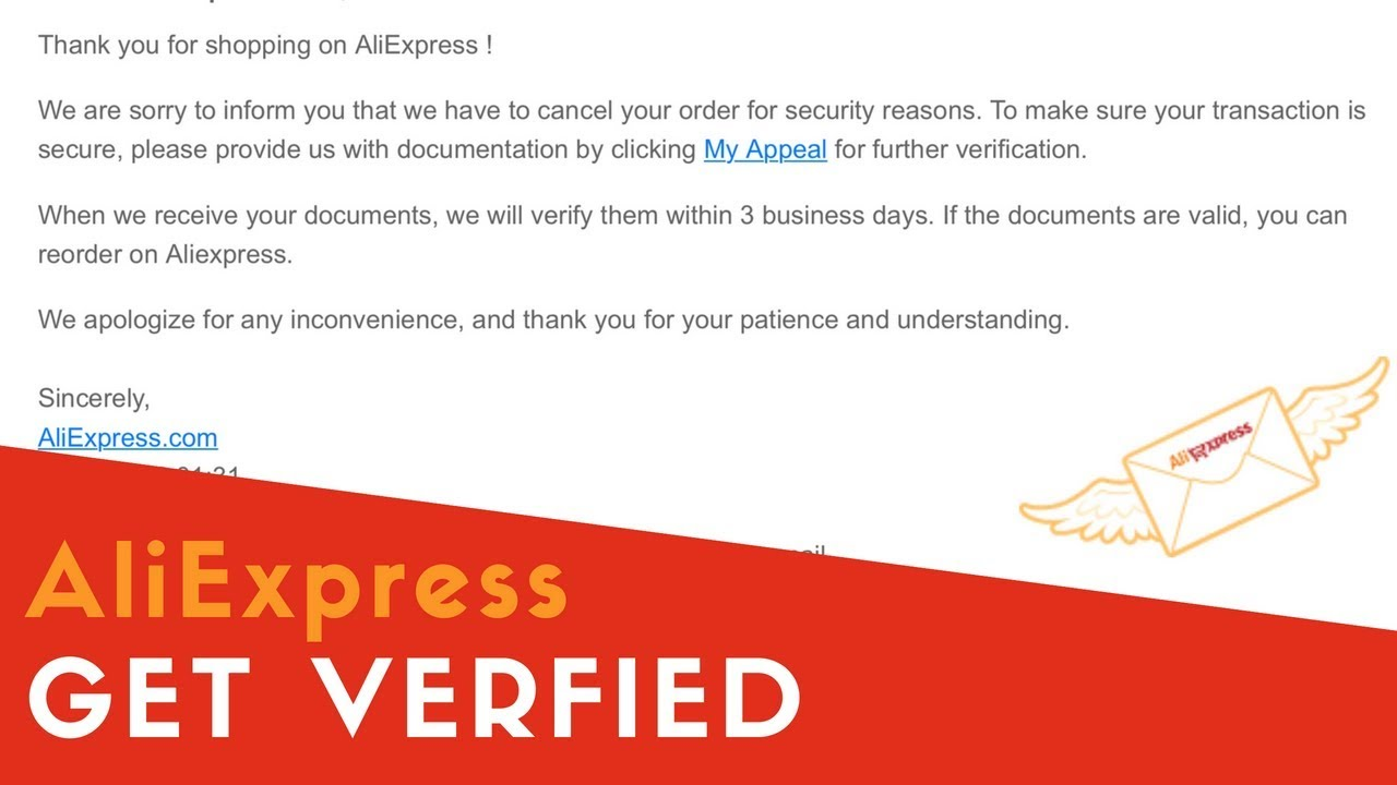 How To Get Verified On AliExpress | Prevent Your Orders From Getting Closed