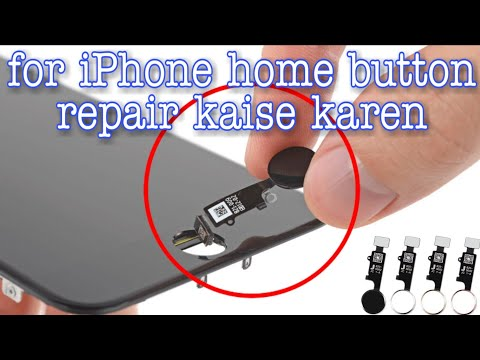 How to Repair IPhone touch id home button hardware repair 7 7 Plus 8 8 Plus