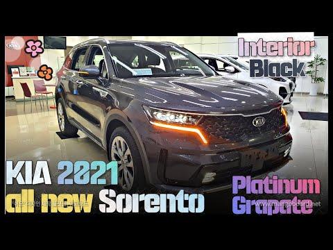 2021 Kia sorento Interior 'Black' Exterior'Platinum Grapate' First Look - all new Kia Sorrento 2021