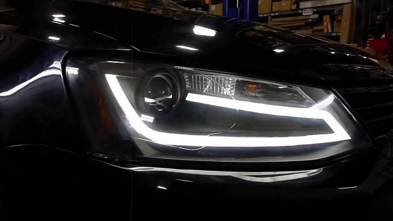 Volkswagen Jetta - Led Bar Far - YouTube