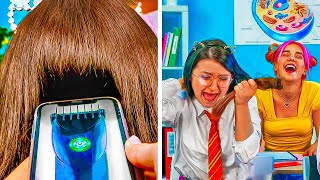 CRAZY SCHOOL PRANKS AND HACKS  Funny Pranks You Can Do at School!