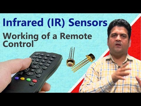 What is Infrared (IR) sensor? Working of a Remote Control